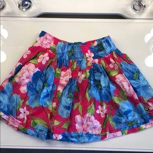 Colorful Hollister skirt